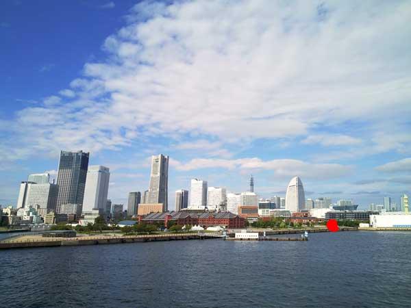 大さん橋の横浜